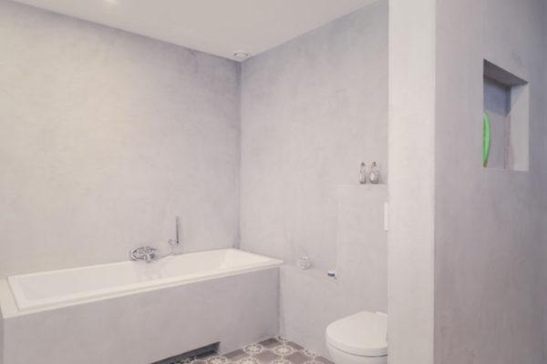 Badkamer Showroom Wijchen : Beton ciré beal u janssen stukadoors wijchen